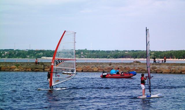 Windsurfing Lessons in Pirita