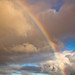 Rainbow on a rainy day by Kjammi.is