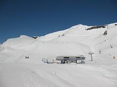 O kousek dál je spodní stanice sedačkové lanovky na Oberjoch.