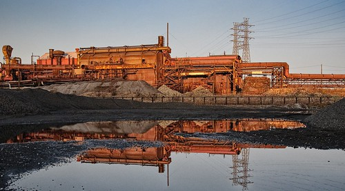 Rust Belt Reflection | by Bob Jagendorf