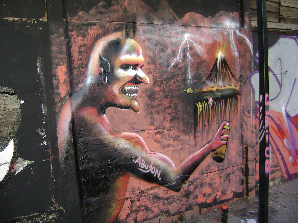 SATANAS El Graffitero Patricio Hernan Ibarra Araya Flickr