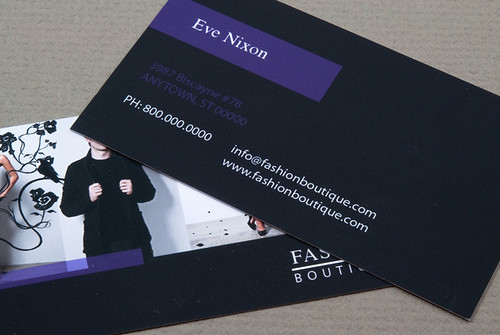 Fashion Boutique Business Card | by inkdphotos