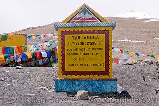DSC12044 - Tanglang Pass - Manali to Leh road (India) | by loupiote (Old Skool) pro