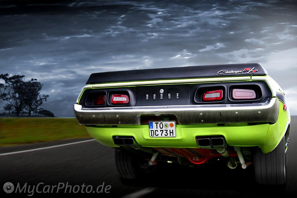 1973 Dodge Challenger 383 Magnum Coup 233 R T Motorisierung