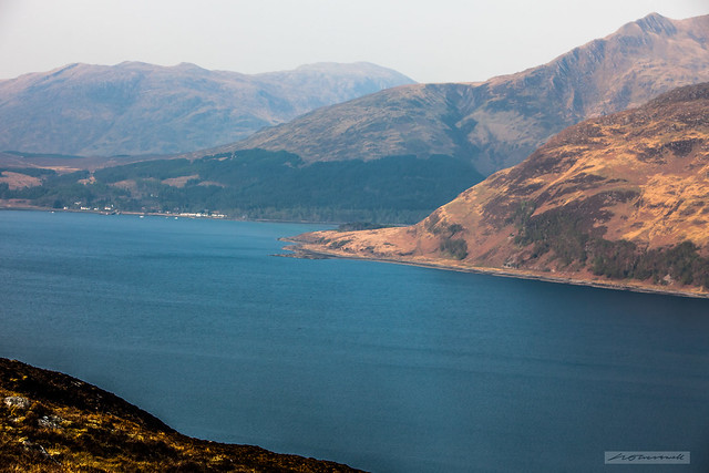 Loch Nevis looking towards Inverie.