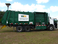 Waste Management Recycle Truck | by srqpix