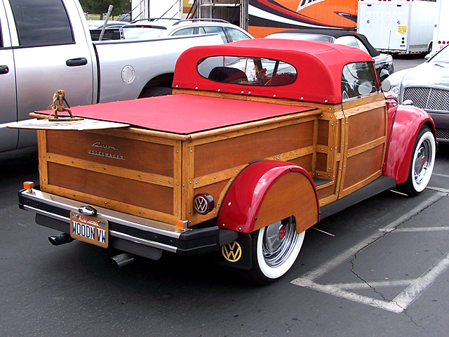 VW woody custom 2