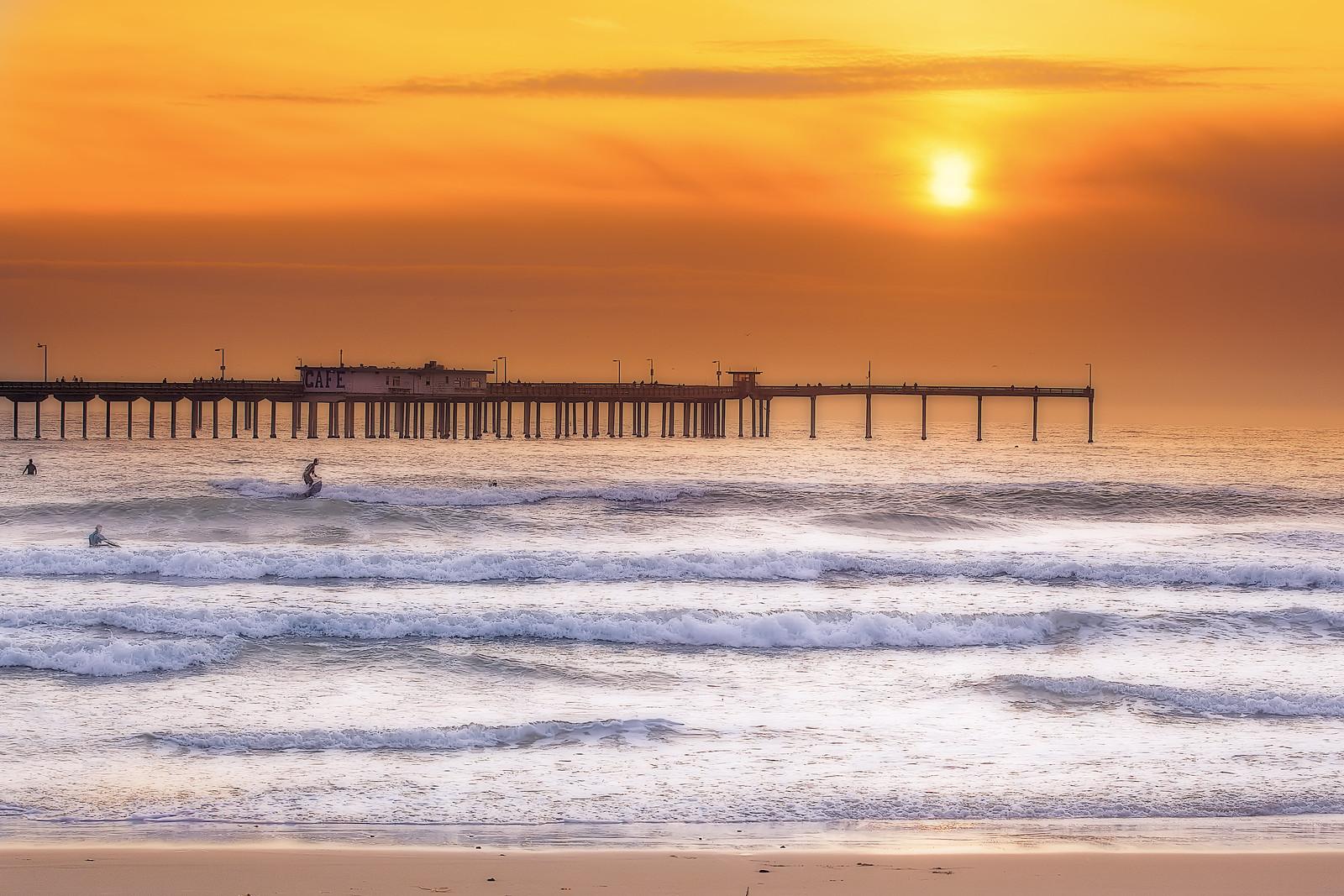Ocean Beach, San Diego, California, USA