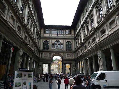 Galería Uffizi. Pórtico | by embolic