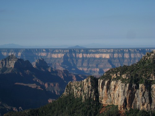 Part of the view from Uncle Jim Point, Grand Canyon National Park, Arizona