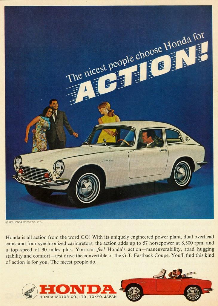 1966 Honda S600 Ad #3