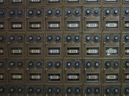 Dormitory, er, Residence Hall Mailboxes | by ConanTheLibrarian