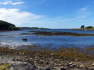 bunessan at a higher tide | by kidmapper
