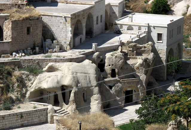 подземни градове в Кападокия