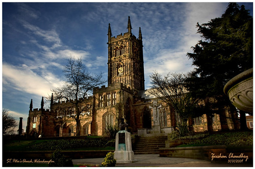 St. Peter's Collegiate Church - Wolverhampton, UK | by Zee Chaudhry