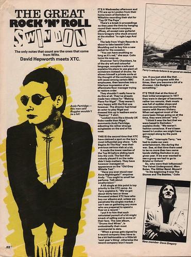 Smash Hits, November 1, 1979 - p.22 | by Brian.McCloskey