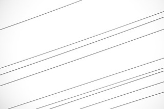 Power Line, Black on White | by J e n s