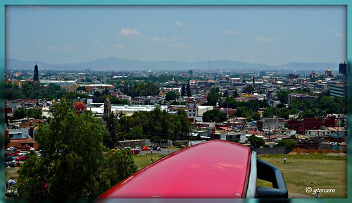 Vista Panorámica Puebla de Los Angeles,Pue.México.P1030801B