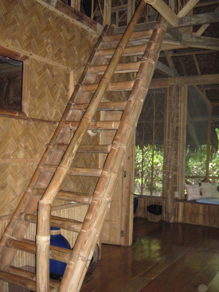Bamboo Staircase | Clarissa Ren | Flickr