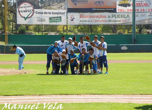 PB130067 Entrenamiento del Puebla FC en el estadio de beisbol Hermanos Serdán por LAE Manuel Vela