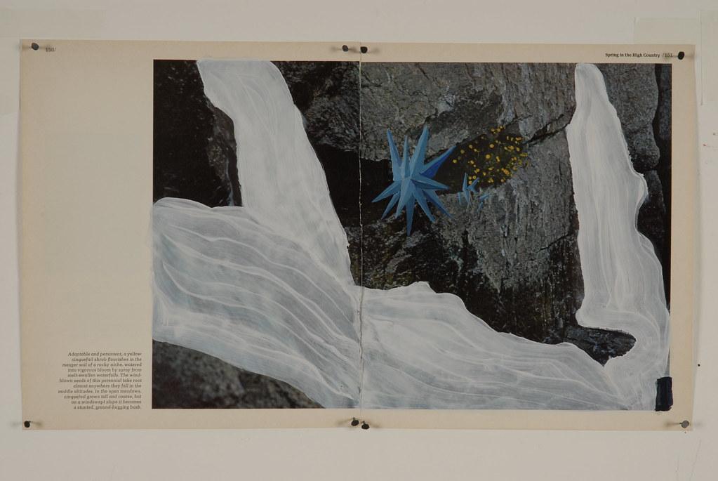 Melt-Swollen Waterfall [Sierra Series]