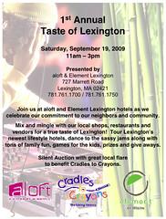 Taste of Lexington 2009   by theoliveoilblog