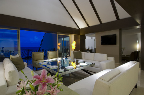 Spacious Living Room - Ambassador Presidential Suite | by Grand Velas Riviera Maya