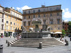 Piazza Santa Maria in Trastevere - Roma luglio 2009 | by cepatri55