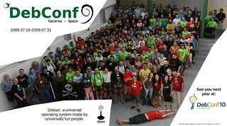 DebConf9 group photo | by aigarius