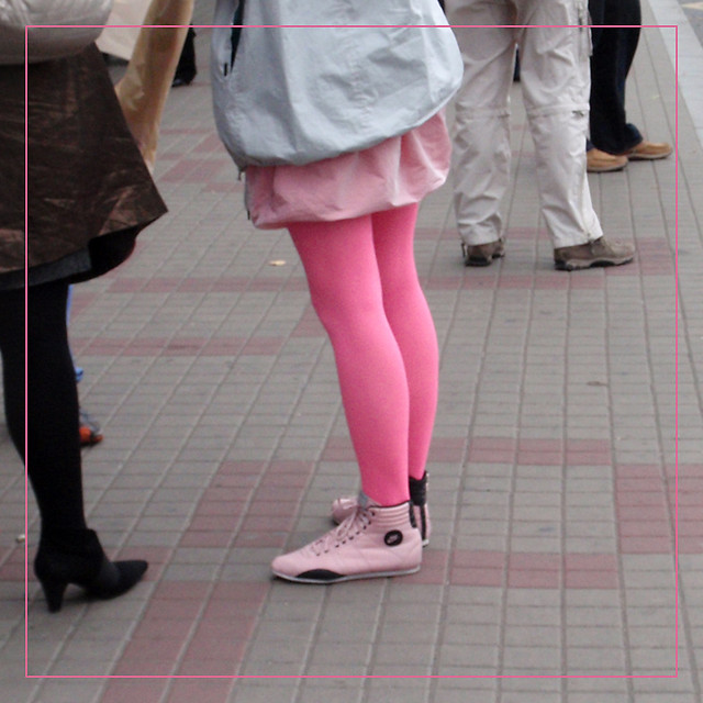 Something Pink For Tuesday - Legs