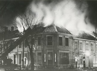 Tordenskiolds gate 2 brenner / Tordenskiold Street 2 Ablaze (1948)