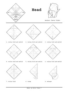 head_diagrams1 | by Davor Vinko Origami