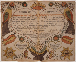 Fraktur (Illustrated Family Record) | by The U.S. National Archives