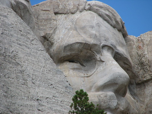 Roosevelt at Mt. Rushmore | by Kurt Magoon