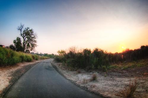 park sunset bikepath landscape fisheye 8mm 2009 hdr regional narrows peleng anza photomatix muzzlehatch