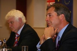 Mike Nattrass & Nigel Farage | by Euro Realist Newsletter