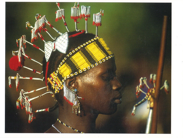 Senegal Ohamana Ceremony Postcard