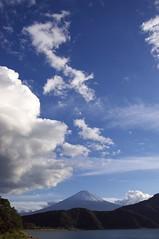 河口湖からの富士山 - Mt.Fuji and Lake Kawaguchi