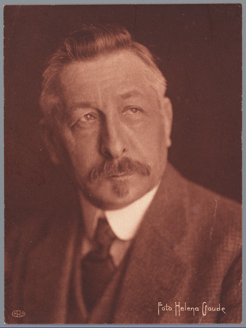 Pieter Jelles Troelstra 1909 Fotograaf Helena Goude Iisg