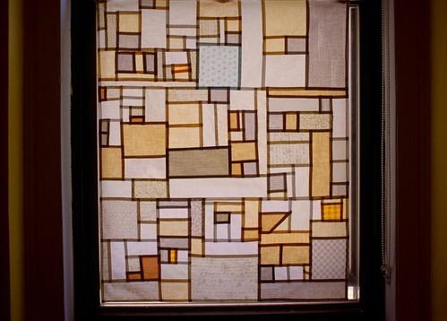 Pojagi-Inspired Window Panel   by silaibunai