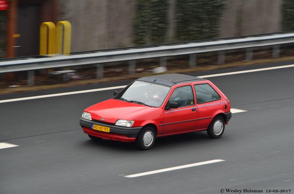Ford Fiesta 1.3i Calypso 26-03-1994 (HS-HZ-95)