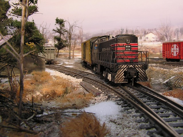 New England layout with Boston & Maine S1