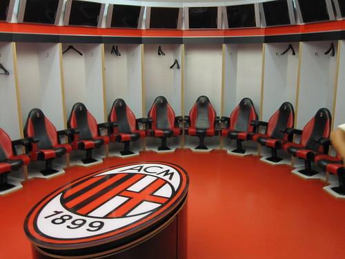 AC Milan dressing room   by robinbos