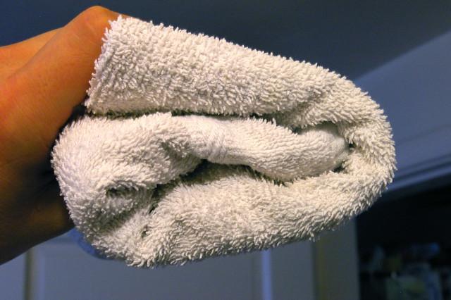 How to hang a towel like a man