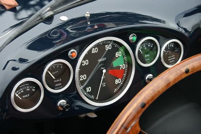 1953 Siata 208CS Stabilimenti Farina Spyder