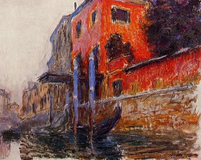 Claude Monet 1908 in Venice - W 1771 - The red house