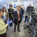 DOE Under Secretary of Science Steven Koonin visit to Berkeley Lab