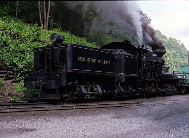 Cass Scenic Railroad Shay #5