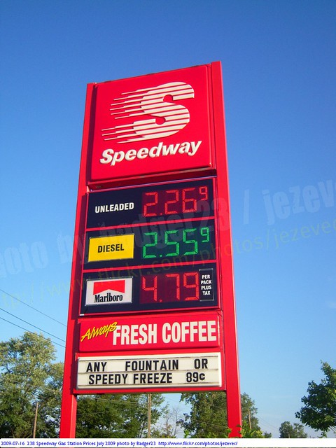 Speedway Gas Prices Near Me >> 2009 07 16 238 Speedway Gas Station Prices July 2009 Flickr