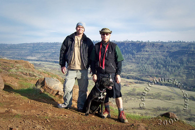 Shane and me on North Rim Trail